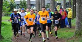 Jarní běh Kunratickým lesem: Zima ani déšť závodníky neodradily