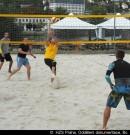 """Beachvolejbalový turnaj ve Žlutých lázních ovládli """"deňáci"""""""