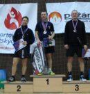 Mistři v badmintonu jsou Marek Schoř z Prahy a Jana Mejzlíková z Českých Budějovic