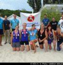 Turnaj v plážovém volejbalu v režii pražských hasičů