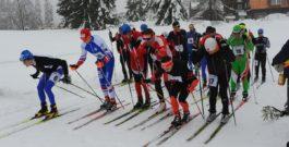 Závodu v běžeckém lyžování kralovali Kristejn a Klášterková