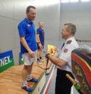 Jubilejní 10. Mistrovství  v badmintonu vyhrál Schoř a Mejzlíková